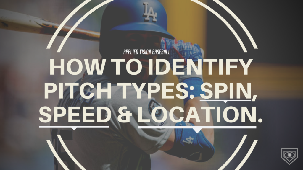 Learning how to identify the most common pitches in baseball: spin, speed & location