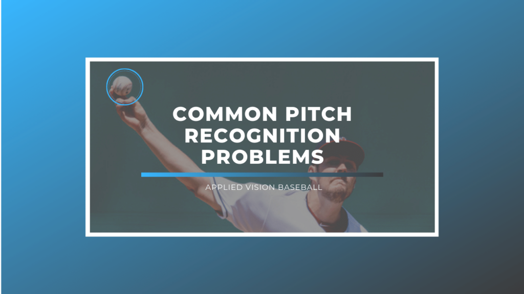 Why Pitch Recognition Is So Important
