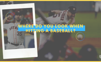 Where Do You Look When Hitting a Baseball?