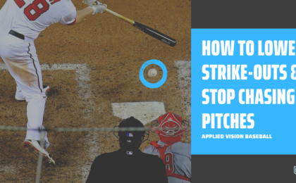 How To Lower Strike-Outs & Stop Chasing Pitches