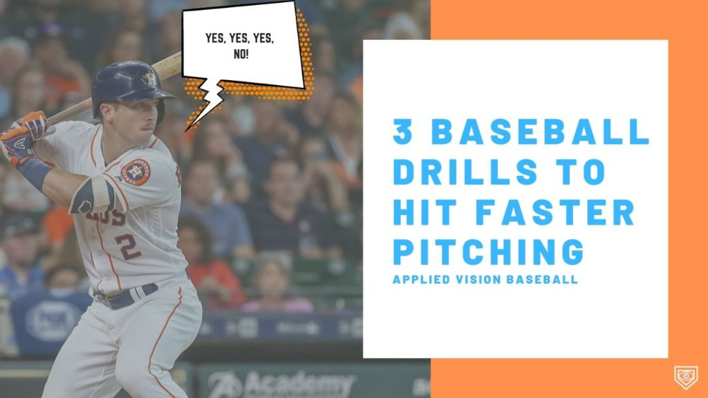 3 Baseball Drills To Hit Faster Pitching + One Important Tip.
