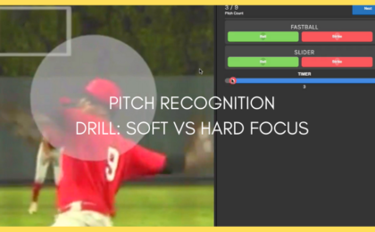 Pitch Recognition Training Drill: Release Point Training