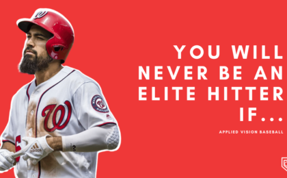You Will NEVER Be An Elite Hitter If...