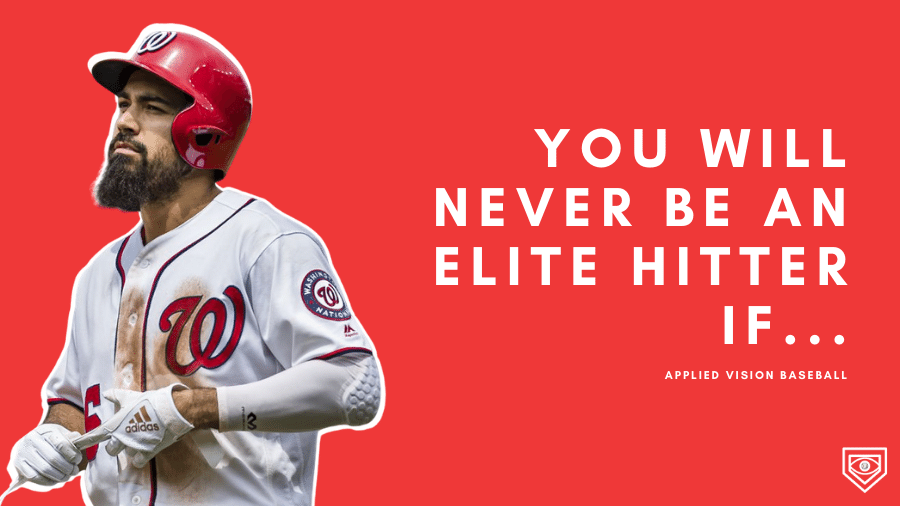 You Will NEVER Be An Elite Hitter If…