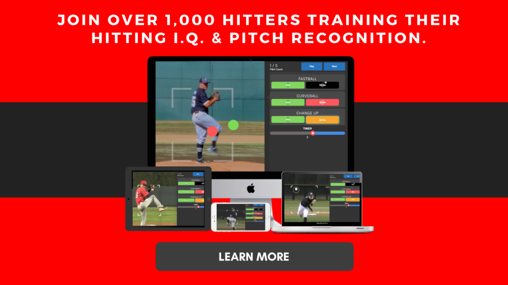 Train Pitch Recognition, Vision, & Hitting IQ.