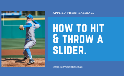 How To Hit & Throw A Slider