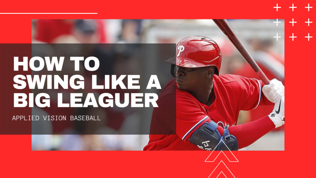 How To Swing a Baseball Bat Like a Big Leaguer.