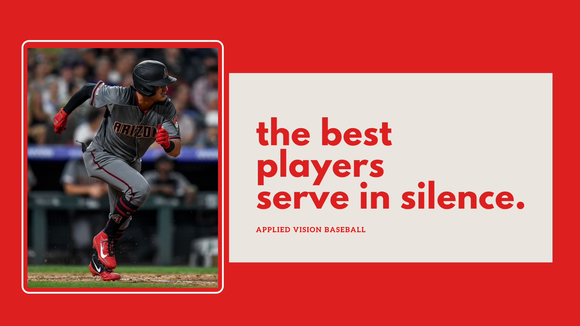 The Best Players Serve In Silence.