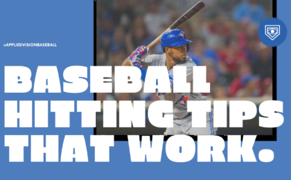 Youth Baseball Hitting Tips That Work.