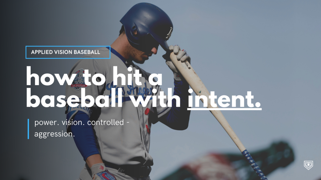 Hitting a Baseball With Intent.