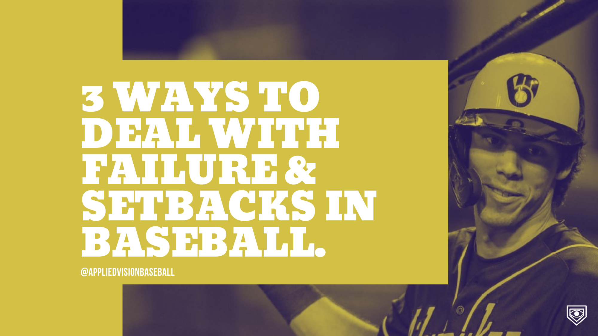 3 Ways To Deal With Failure & Setbacks in Baseball.